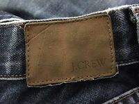 J. Crew Boot Cut Blue Jeans Womens size 6  100% Cotton