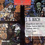 BACH Johann Sebastian - Magnificat - Messe brève - Cenate BWV 51 - CD Album
