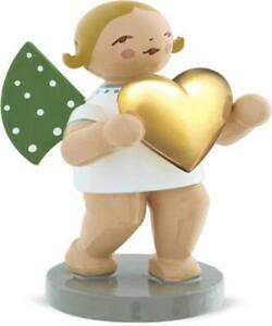 Engel Liebesbote mit Herz 650/116 Goldedition neu vom Fachhändler