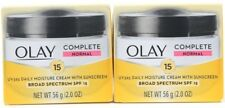 2 Olay Complete Daily Moisture Cream Sunscreen SPF 15 Broad Spectrum 2.0 oz