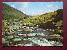 POSTCARD CUMBRIA RIVER CALDEW BY CARROCK FALL