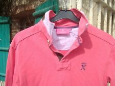 polo rose VICOMTE A  taille S tbe