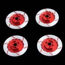 RC 1:10 HSP HPI Sakura Drift Car Aluminum Wheel Brake Disc 4P N10075 Red Part