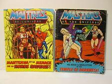 MASTERS OF THE UNIVERSE MATTEL 2  MINI LIBRETTI  FUMETTI