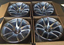 "17"" ESR SR08 Machined Wheels 5x114.3 17x9.5 +20 Concave Rims Set of 4"