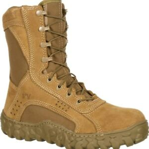 Rocky Men's S2V Steel Toe Tactical Military Boots Coyote Brown FQ0006104