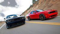 """2015 Dodge Challenger SRT Hellcat Auto Car Art Silk Wall Poster Print 24x36"""""""