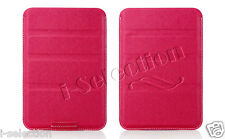 Ultra Slim Premium Pink PU Leather Sleeve Case for Samsung Galaxy Tab 3 7.0 8.0