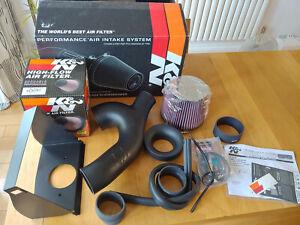K&N 63-2599 Performance Air Intake System Ford F150 3.5L 17-19 Lincoln Navigator