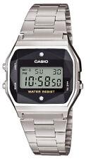 Casio Collection Retro Klassiker Uhr Digital Edelstahl A158WEAD-1EF