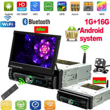 Android 8.0 Autoradio DVD GPS Navigation 1DIN Bluetooth WIFI USB FM + Kamera