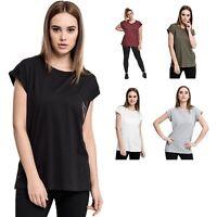 Urban Classics - Ladies Extended Shoulder Tee TB771 Shirt Oberteil Damen