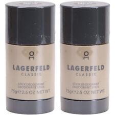 Lagerfeld Classic Deo Stick for man Deodorant 2 x 75g