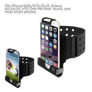 iHome Universal Sport Armband Black IH-5P150B One size fits most smart phone New