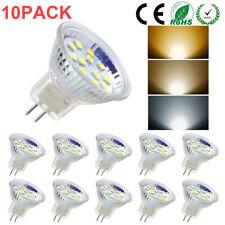 MR11/GU4 LED Bulb Light Spotlight 3W/5W AC/DC12V-24V Warm/Cool White DIMMABLE UK