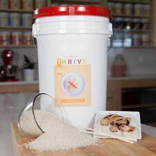White Rice EMERGENCY Survival 6 gallon GAMMA/MYLAR BUCKET freeze dried food