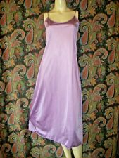 Vintage Vanity Fair Purple Sheath 00004000  Silky Nylon Midi Slip Lingerie 38