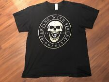 Sleeping With Sirens Black 2018 Gossip Tour Tee T-Shirt Large EUC