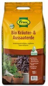 FRUX   BIO  KRÄUTER - UND  AUSSAATERDE    GEBRAUCHSFERTIG  5  LITER