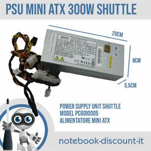 Shuttle PSU 300W Mini ATX PC60I0005 20x8x5,5 cm Power Supply Unit TESTED