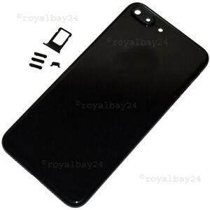 iPhone 7 Plus Aluminium Mittel-Rahmen Diamantschwarz Gehäuse+Tasten+SIM-Slot