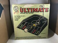 Vintage 1966 19th Hole Ultimate Electric Putt Return by Brandell Products