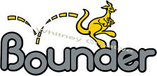 Bounder RV LOGO Graphic Lettering decal 5th Wheel