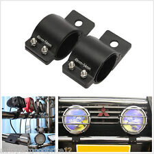 2Pcs Car Offroad Bull Bar Led Work Lamp Holder Aluminum Mounting Bracket 49-54mm