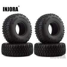"1.55"" Wheel Tire Tyre for 1/10 RC Crawler RC4WD D90 TF2 Tamiya CC01 LC70 LC80"
