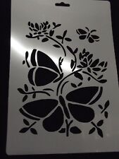 Brand New Stencil For Cakes Craft Paint Hobby etc Butterflys,