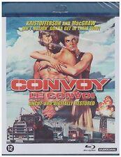 CONVOY (1978 Kris Kristofferson) Uncut/Restored Blu Ray - Sealed Region B for UK