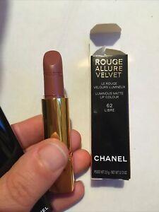 Chanel Lipstick Rouge Allure Velvet 62 libre, RRP £33