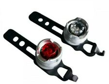 ETC Superbright Mini LED Bike Front and Rear Cycle Lights