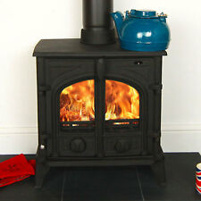 Multifuel Wood Burning Stove 7kw Alpine Victoria Solid Fuel Stove Woodburning