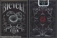 Venom Deck Bicycle Playing Cards Poker Size USPCC Custom Limited  Edition Sealed