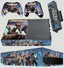 XBOX ONE CONSOLE STICKER Fortnite Survival Sandbox Building SKIN & 2 PAD SKIN