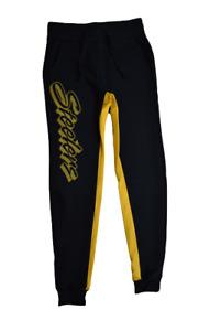Junk Food Womens NFL Pittsburgh Steelers Paneled Sherpa Fleece Jogger Pants New