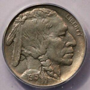 1915-P 1915 Buffalo Nickel ICG MS64