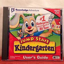 Jump Start Kindergarten Ages 4-6 Education Learning Teach Cd Windows Macintosh