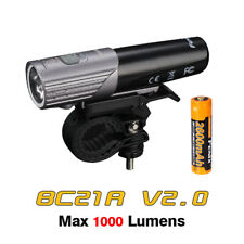 Fenix BC21R V2.0 Cree XM-L2 Neutral White LED 1000 Lumen Rechargeable Bike Light