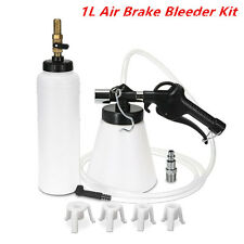 Air Brake Oil & Fluid Extractor Bleeder Kit Pneumatic Clutch Vacuum Fill Bottle