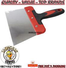 "175mm (7"") Scraper with Soft Grip Handle Flexible Blade Home DIY Scrape Plaster"