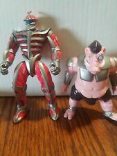 1994/1995 Bandai 2 Power Rangers Space Aliens Villains Figures Lord Zed/Mordant.