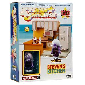 McFarlane Toys Steven Universe Amethyst Steven's Kitchen Construction Set #12887