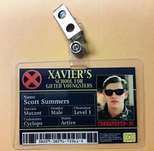X men ID Badge -  Xavier's School Scott Summers Cyclops cosplay prop costume