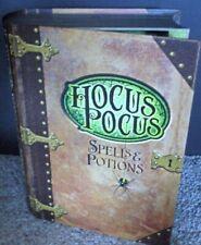 New~Hallmark Halloween Hocus Pocus~Talking Candy Treat Box/Holder~Spells/Potions