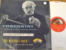 ALP 1145 Beethoven Symphonies Nos. 2 & 4 / Toscanini R/G
