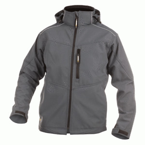 DASSY Tavira 300304 Waterproof Breathable Softshell Jacket - Grey
