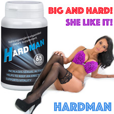 HARDMAN SEX 65 CAPS PILLS FOR MEN HARDER BIGGER LONGER PLEASURE Enlarge King