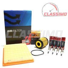 Air & Oil Filter + Spark Plug Service Kit for MINI COOPER S R50 R53 - 2000-2006